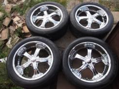 Комплект колес R22 Zinik. 9.5x22 6x139.70 ET15 ЦО 110,0мм.