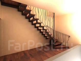 Изготовление лестниц любой сложности (металл, бетон, дерево)