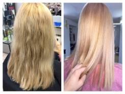 Выпрямление волос Нанопластика