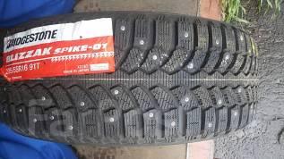 Bridgestone Blizzak. Зимние, шипованные, 2014 год, без износа, 4 шт