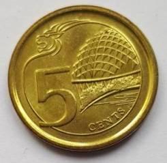 Сингапур 5 центов 2013
