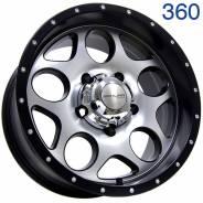 Sakura Wheels 360. 8.0x16, 5x139.70, ET-10, ЦО 110,5мм. Под заказ
