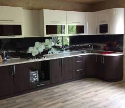 Кухня любой сложности, подключение электрики, сантехники бесплатно. Под заказ