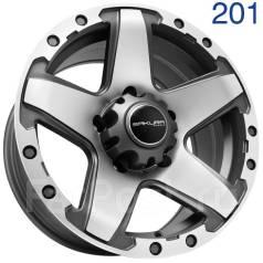 Sakura Wheels. 8.0x16, 5x139.70, ET0, ЦО 110,5мм. Под заказ