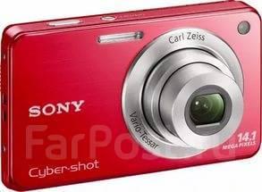 Sony Cyber-shot DSC-W560. 10 - 14.9 Мп, зум: 4х