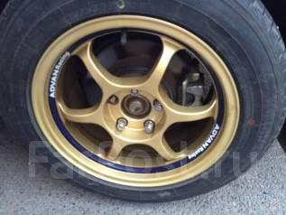 Комплект колес б/п Advan RG2+Yokohama. 7.5/8.0x16 5x114.30 ET-29/-38 ЦО 76,0мм.