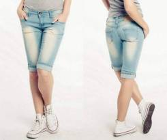 Шорты джинсовые. 46, 50