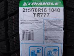 Triangle Group TR777. Зимние, без шипов, 2017 год, без износа, 4 шт