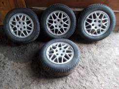 Продам колёса 4 штуки на литье. R15. /Б/У. 3.5x15 ET-98 ЦО 54,1мм.