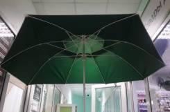Зонт пляжный большой 240 см диаметр с двойным куполом. Под заказ