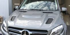 Капот. Mercedes-Benz GLE