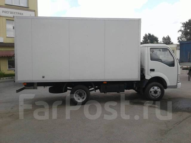 Isuzu Elf. JBC 1041 изотермический фургон 18 м3 борт 4 метра, 3 200 куб. см., 3 500 кг.