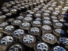 Свежий приход 2000 колес с Японского аукциона