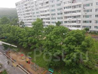 2-комнатная, улица Сафонова 39. Борисенко, агентство, 45 кв.м. Вид из окна днём