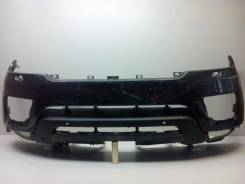 Бампер передний под. парктр. и омыв. фар range rover sport 13- б/у lr. Под заказ