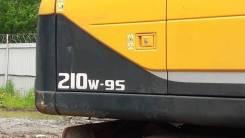 Hyundai R210W-9. Экскаватор колесный S б/у (2013 г. в., 5 700 м. ч. ), 1,05куб. м.