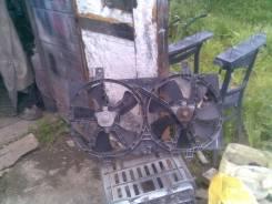 Вентилятор охлаждения радиатора. Nissan Bluebird