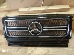 Решетка радиатора. Mercedes-Benz G-Class, W463, W463.307, W463.321, W463.320, W463.228, W463.327, W463.328, W463.300, W463.200, W463.204, W463.207, W4...