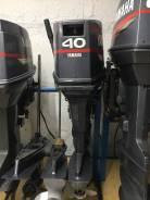 Продвется лодочный мотор Yamaha-40. 40,00л.с., 2-тактный, бензиновый, нога S (381 мм), 1998 год год