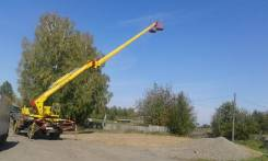 ЗИЛ 130. Продам автовышку МШТС 4МН на базе ЗИЛ-130, 6 000 куб. см., 18 м.