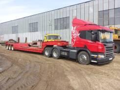 Scania. Продам Седельный тягач P400 CA6x4HSZ с Тралом!, 13 000 куб. см., 26 500 кг.