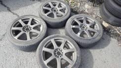 Продам колёса work japan. 7.0x17 5x100.00 ET47 ЦО 70,0мм.