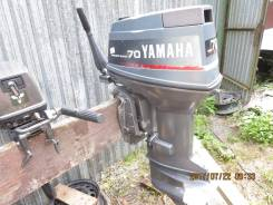 Yamaha. 70,00л.с., 2х тактный, бензин, нога L (508 мм)