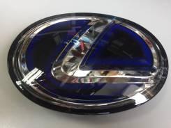 Эмблема решетки. Lexus LX570, URJ201 Двигатель 3URFE