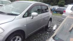 Зеркало заднего вида боковое. Nissan Tiida, NC11 Двигатель HR15DE
