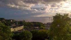 Гостинка, улица Кирова 64. Вторая речка, 18кв.м. Вид из окна днем