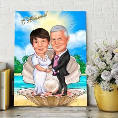 Подарок на свадьбу, годовщину