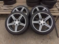 Продам резину Mersedes-Benz AMG R18 +резина 245 45 18. 8.5x18 5x112.00 ET38