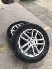 Комплект колес Volkswagen Touareg 255/55 R18. В наличии!. x18 5x130.00
