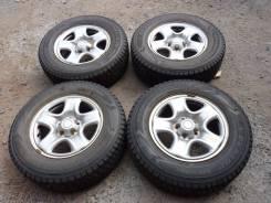 Dunlop Grandtrek SJ6. Зимние, без шипов, 2004 год, износ: 5%, 4 шт