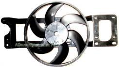 Диффузор радиатора в сборе RENAULT LOGAN 05- без кондиционера ST-DC01-201-0, SAT
