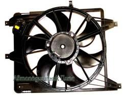 Диффузор радиатора в сборе RENAULT LOGAN 05- с кондиционером ST-DC01-201-A0, SAT
