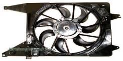Диффузор радиатора в сборе RENAULT LOGAN 08- с кондиционером ST-DC01-201-C0, SAT