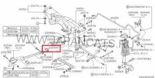 Сайлентблок. Subaru Legacy, BGB, BFB, BF7, BD5, BC5, BG9, BD3, BF5, BG7, BC3, BF3, BG5, BG3, BCA, BFA, BGC, BGA, BD9, BCM Subaru Forester, SF9, SG9, S...