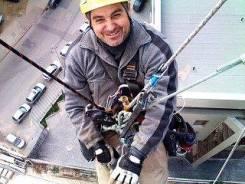 Промышленный альпинист. Среднее образование, опыт работы 8 месяцев