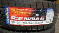 Goodyear Ice Navi 6. Зимние, без шипов, 2013 год, без износа, 4 шт