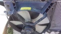 Вентилятор охлаждения радиатора. Toyota Carina ED, ST200