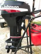 Johnson. 9,90л.с., 2-тактный, бензиновый, нога S (381 мм), 2001 год