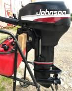 Johnson. 9,90л.с., 2-тактный, бензиновый, нога S (381 мм), Год: 2001 год