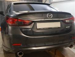 Тюнинг mazda 6 Gj спойлер козырек обвесы накладки. Mazda Mazda6, GJ. Под заказ