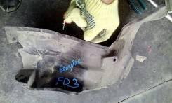 Защита горловины топливного бака. Honda Civic Hybrid, FD3, DAA-FD3 Honda Civic, DBA-FD1, DBA-FD2, FD1, ABA-FD2, FD3, FD2, ABAFD2, DBAFD1, DBAFD2, DAAF...
