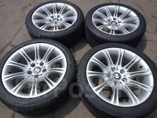 Настоящие оригинальные BMW 525/E61 M Sport R18 на шинах 245/40. 8.0x18 5x120.00 ET20