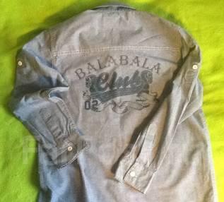 Рубашки джинсовые. Рост: 134-140 см