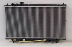 Радиатор охлаждения двигателя. Mazda Premacy, CPEW, CP8W
