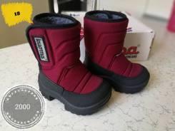 Обувь для девочки на лето, очень, зиму от 100р. Всё отличного качества. 18, 19