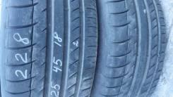Michelin Pilot Sport. Летние, 2008 год, износ: 10%, 2 шт
